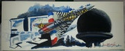 Caspoa mirage Tiger Cambrésis Lmv. Forangeart F. Baldinotti Peintre De l'air