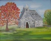 La Chapelle de Rochefort en Terre.