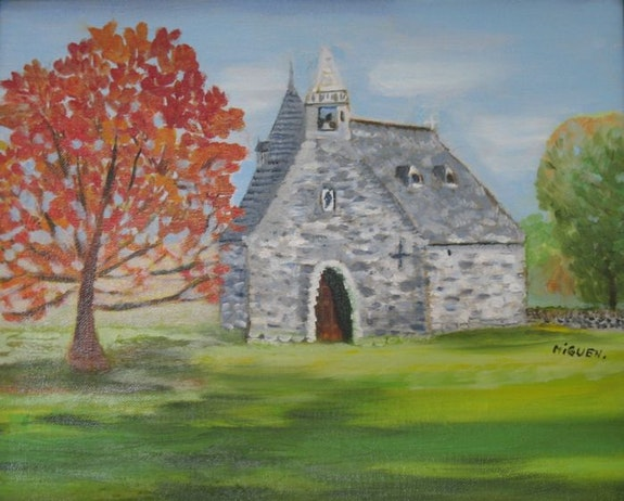 La Chapelle de Rochefort en Terre. Miguen Miguen