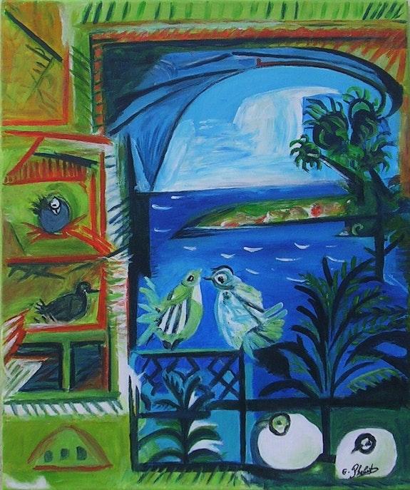 Les pigeons. Ghislaine Phelut-Sanchez Ghislaine Phelut
