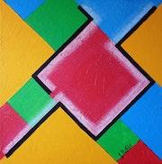 Abstrait geometrique n° 22.