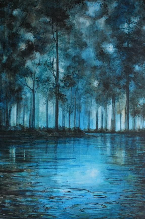 L'aube dans l'eau. Marie-Noëlle Ribardiere Marie-Noëlle Ribardiere