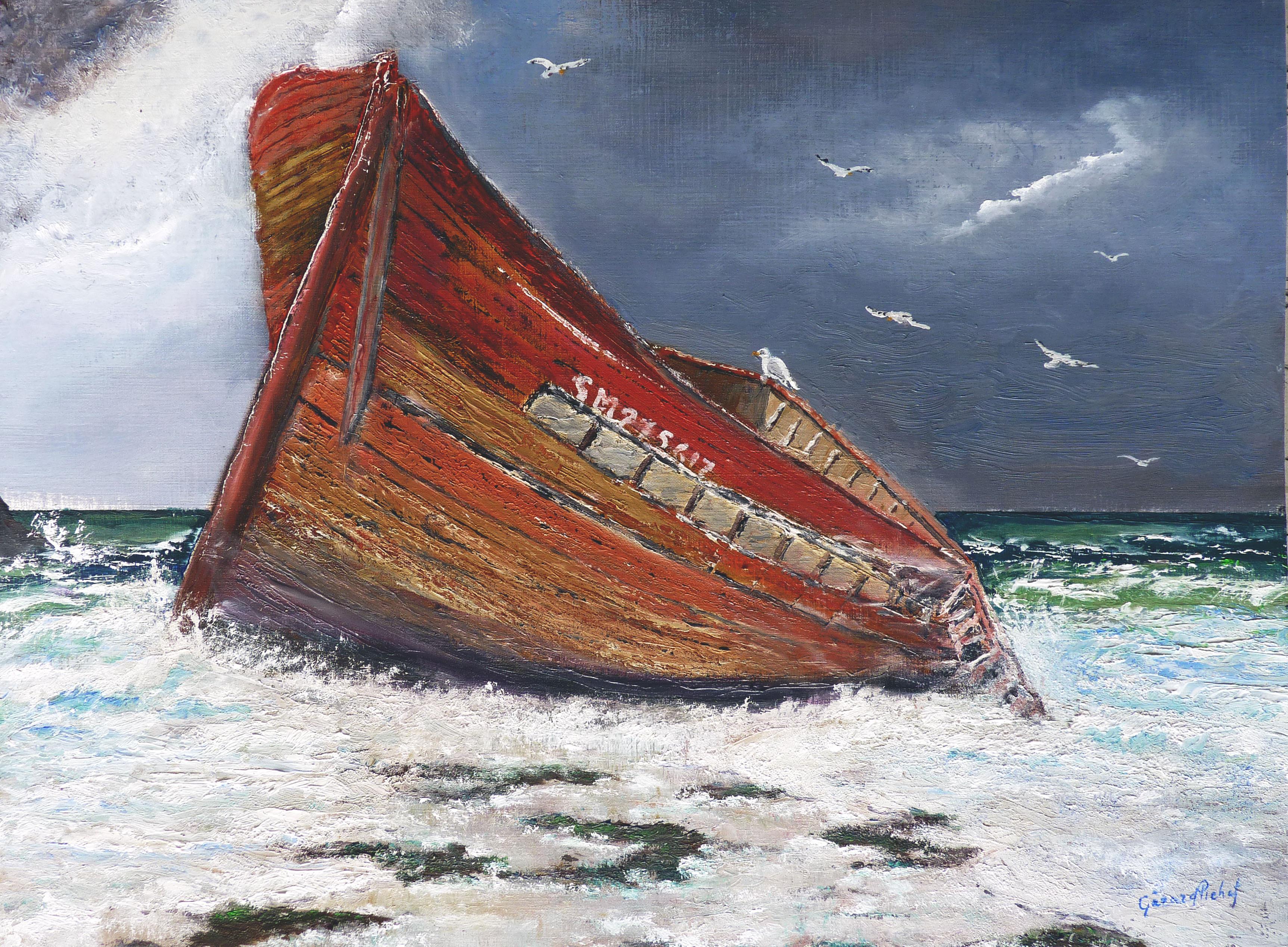 Barque échouée - Anatole Le Braz 504724.2010862497.2.o1005844000