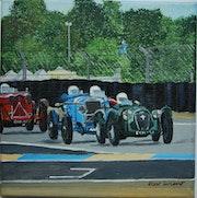 Course d'ancêtres au Mans classique.