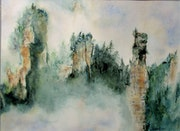 «Montagnes chinoises».