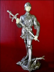 «Jeanne d'Arc» sculpture d'Antoine bofill.
