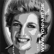 Lady Diana in Art.