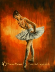 Konzentration Ballett.