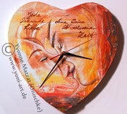 Wand-UHR - Wallclock - Without your love.