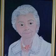 Ma tante Eva (85 ans). Nicole Retureau