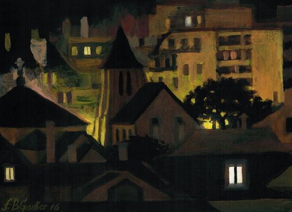 St Blaise nuit. Franck Gaulier Gaulier