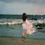 Promenade en bord de mer. Marie Carteron