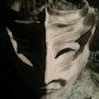 The mask of venitie. Paul Nebac