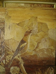 Unique painting birds. Gabrielle