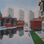 Scene urbaine à Istamboul. Cesar Luciano