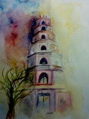 La pagode de la dame Célèste (Vietnam). Yokozaza