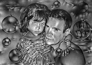 Père et fille, la tendresse….