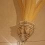 Le visage de l'ombre (église de Méneslie, où mes enfants ont joué du piano). Nathalie Hochard-Gaudry