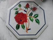 Marble inlay table art. Touseef Khan