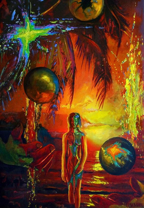 Jongler avec les couleurs. J. L. Manuel Jean-Louis Manuel