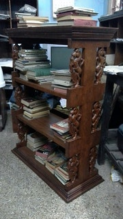 «Twelve Yaazhis»- display cabinet/book-shelf.