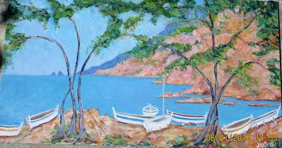 Cales à bateaux en Méditerrannée. Jacques Blasco Jacques Blasco