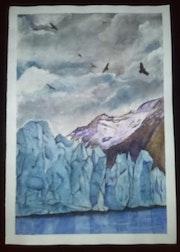 Glaciar de Chile.