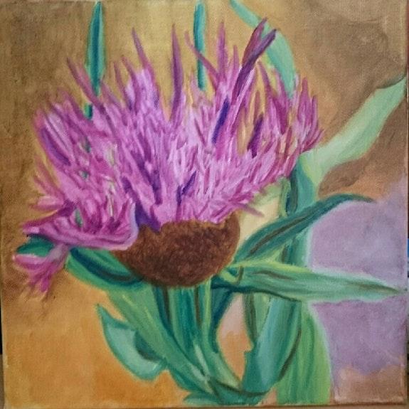Fleur de montagne. Nicole Retureau