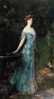 John Singer Sargent - «Millicent- Duchess of Sutherland 1904» - Reproduction. John Lee