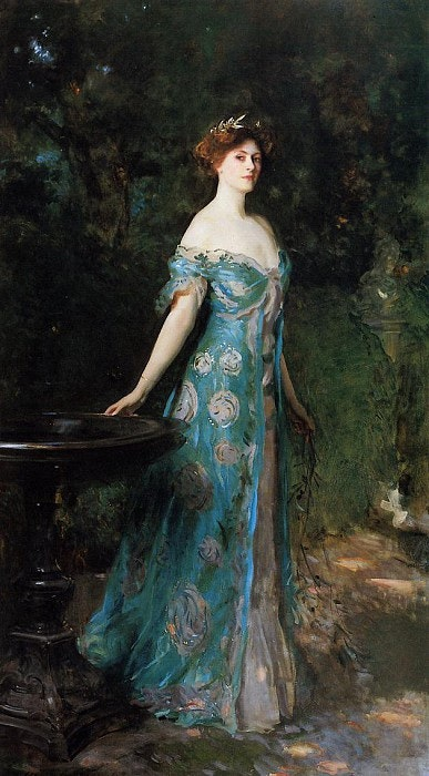 John Singer Sargent - «Millicent- Duchess of Sutherland 1904» - Reproduction. Jonh Lee John Lee