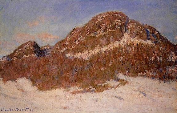 Claude Oscar Monet - «Mount Kolsaas 3- 1895» - Reproduction. Jonh Lee John Lee