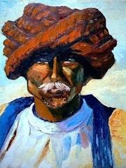 L'homme du désert.