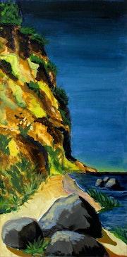 Steilküste.