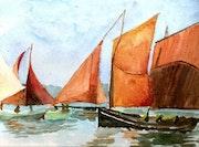 Bateaux bretons.