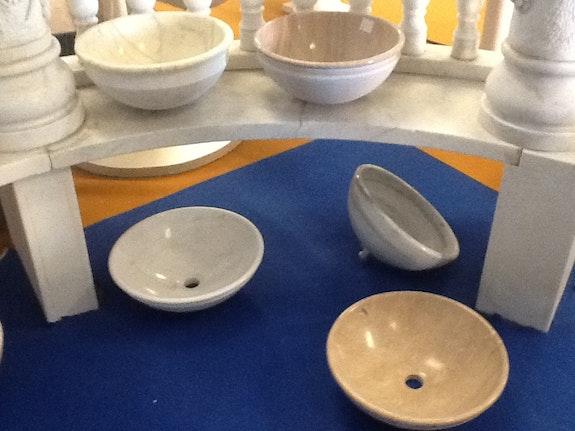 Lavabos de mármol.  Opus Romano Xxi Sl