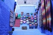 Chefchaouen la perle bleue du maroc. Saloua Alamri