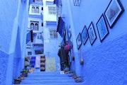 Chefchaouen, son ancienne médina aux murs bleus une ville mythique. Saloua Alamri