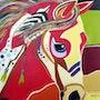 Indian head horse. Jorge Kreye