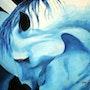 I am blue. Jorge Kreye