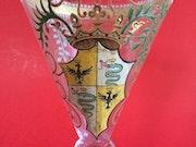 Kelchglas mit Wappen Herzogtum Mailand - Herzöge von Sforza, wohl 18. Jhdt. !.