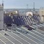 «Midi sur les toits de Paris». Thierry Duval