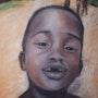 Enfant guyanais de Maripassoula Guyane 1997. Jean-Michel Houée