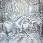 Voler dans la neige. Marina Maltseva (Landriot)