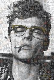 James Dean Green Glasses.