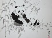 Maman panda.