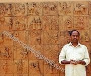 Molela terracotta work. Dineshchandra Kumhar