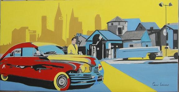 La voiture rouge. Cesar Luciano Cesar Luciano