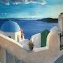 Oia à Santorin. Carine Gionco - Swamberghe