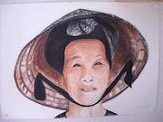 Chinoise. Christiane Decrand
