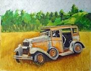 Rustic. Art By Alan